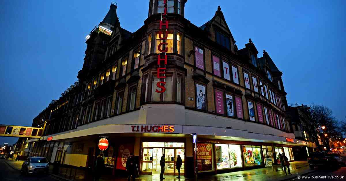 Plans approved to demolish iconic TJ Hughes department store in Liverpool - replacing it with hundreds of flats
