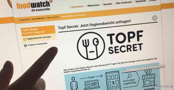 """""""Topf Secret"""":  UnternehmenwollenAuskunft über Hygienemängelstoppen"""
