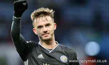 Manchester United face missing out on James Maddison as Leicester star closes in on new contract
