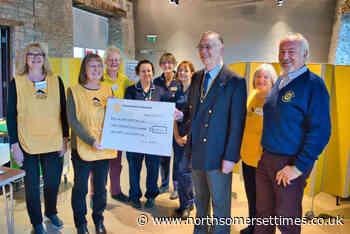 Charity walks raise hundreds for leg club