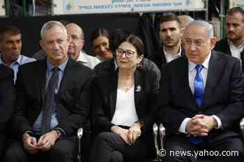 Israeli parliament starts dissolving itself for 3rd election