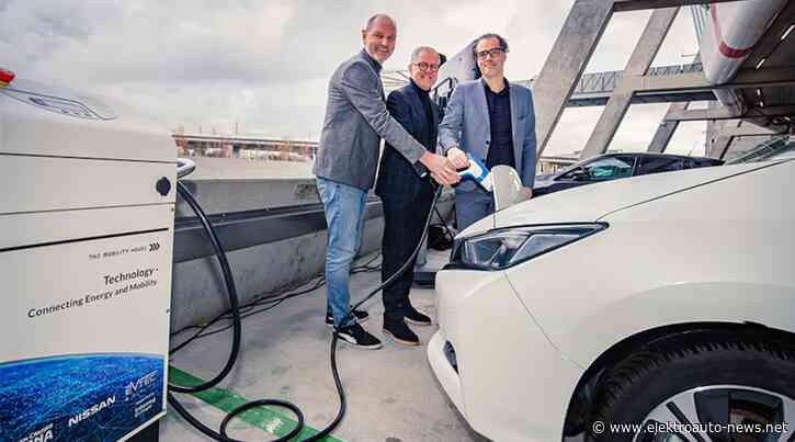 Johan Cruijff ArenA integriert Elektroautos über Vehicle-to-Grid