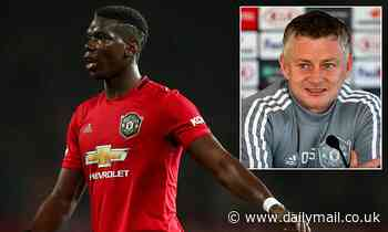Manchester Utd boss Ole Gunnar Solskjaer 'hopeful' Paul Pogba will return before the end of the year