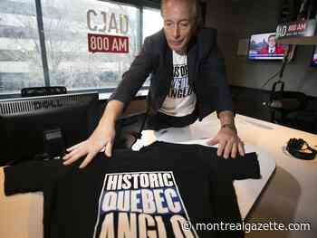 Brownstein: Historic Quebec Anglos making statement on T-shirts