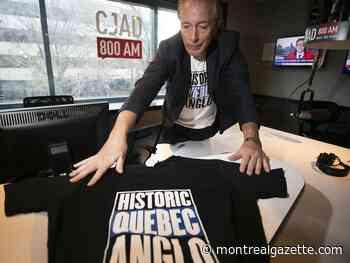 Brownstein: Historic Quebec Anglos making statement on T-shirts