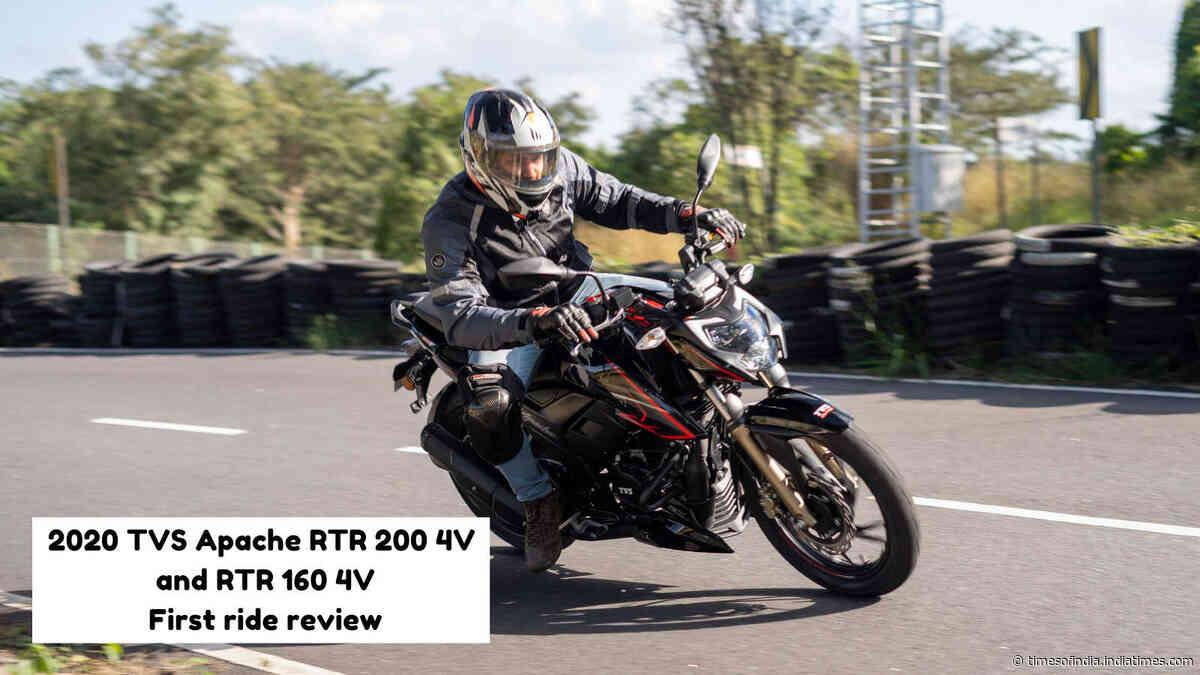 Review: TVS Apache RTR200 4V and RTR 160 4V BS-VI