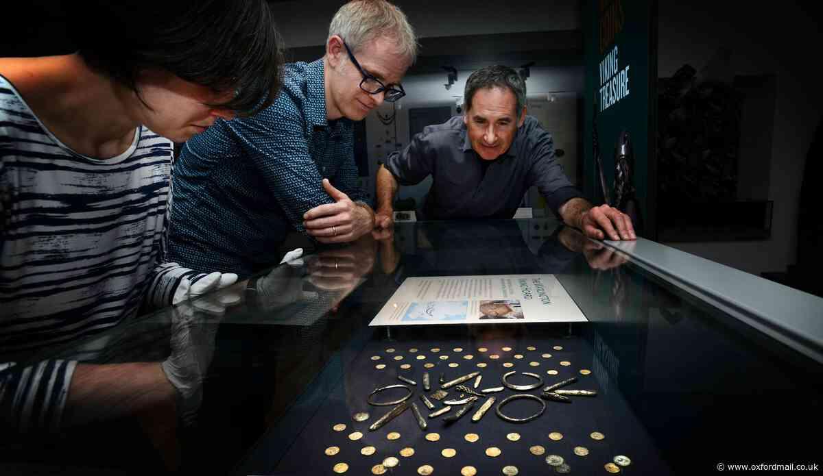 227 treasure troves dug up in Oxfordshire