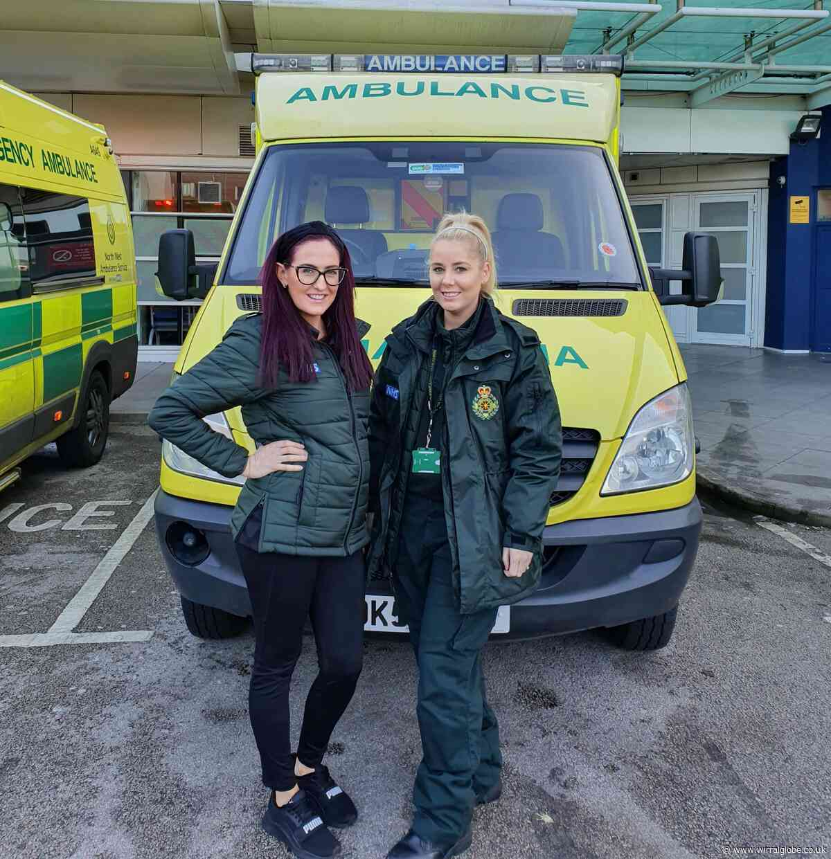 Ambulance service 'angels' take flu bus on tour to ensure paramedics receive jabs