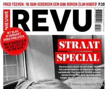 Nieuwe Revu laat daklozen tijdschrift maken