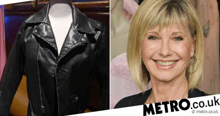 Buyer who paid £188k for Olivia Newton-John's Grease leather jacket returns it to her after auction