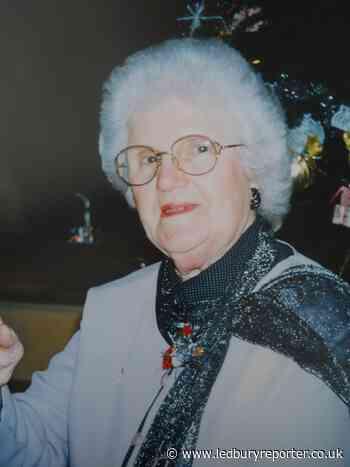 Death of kindly Ledbury fund-raiser, Doris Mitton