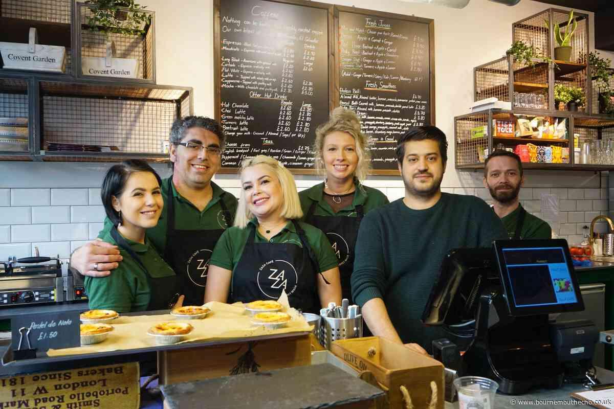New cafe Za Za opens in Bournemouth town centre