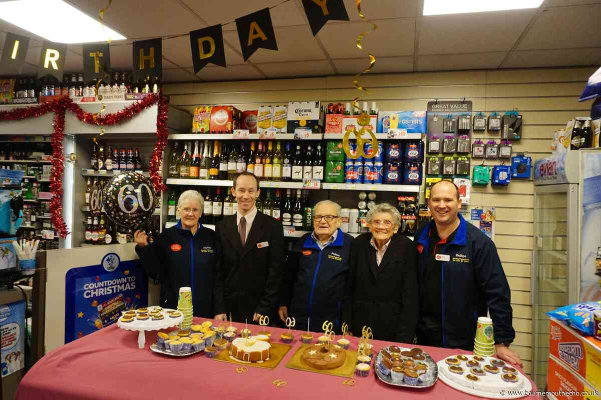 Boscombe post office celebrates 60 years of service