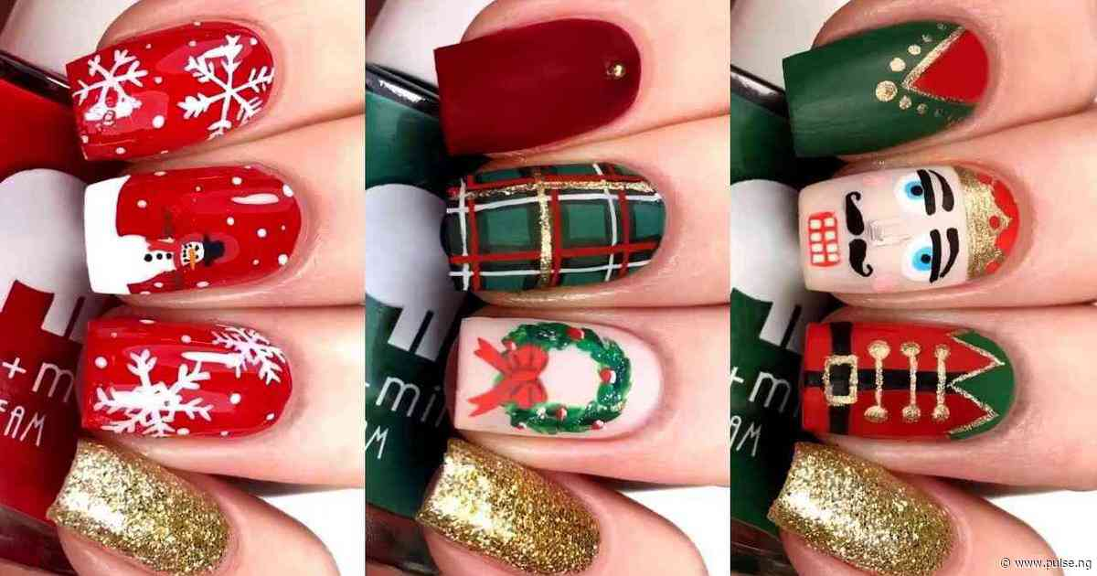 Get your Christmas groove on with these creative nail arts ideas