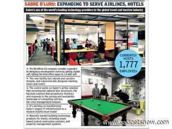 Sabre's Bengaluru centre is getting into the top league