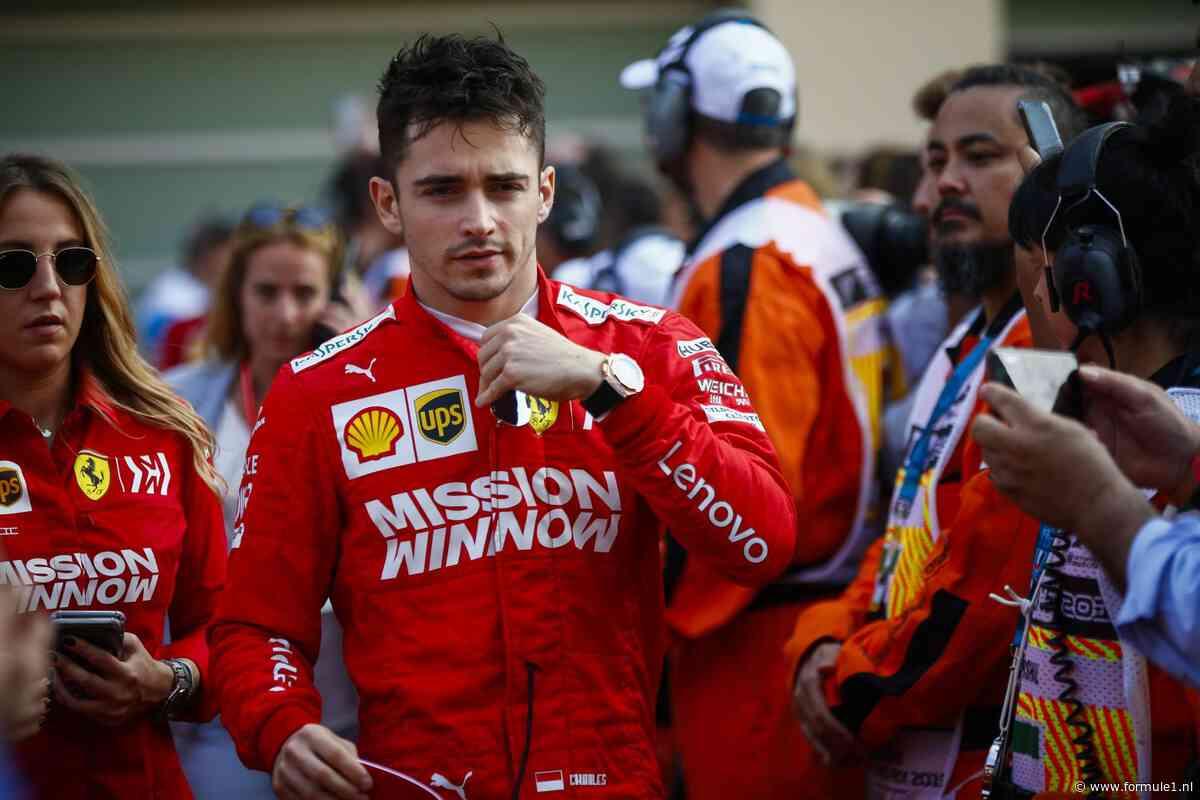 Leclerc tevreden over eerste seizoen bij Ferrari: 'Het was beter dan verwacht'