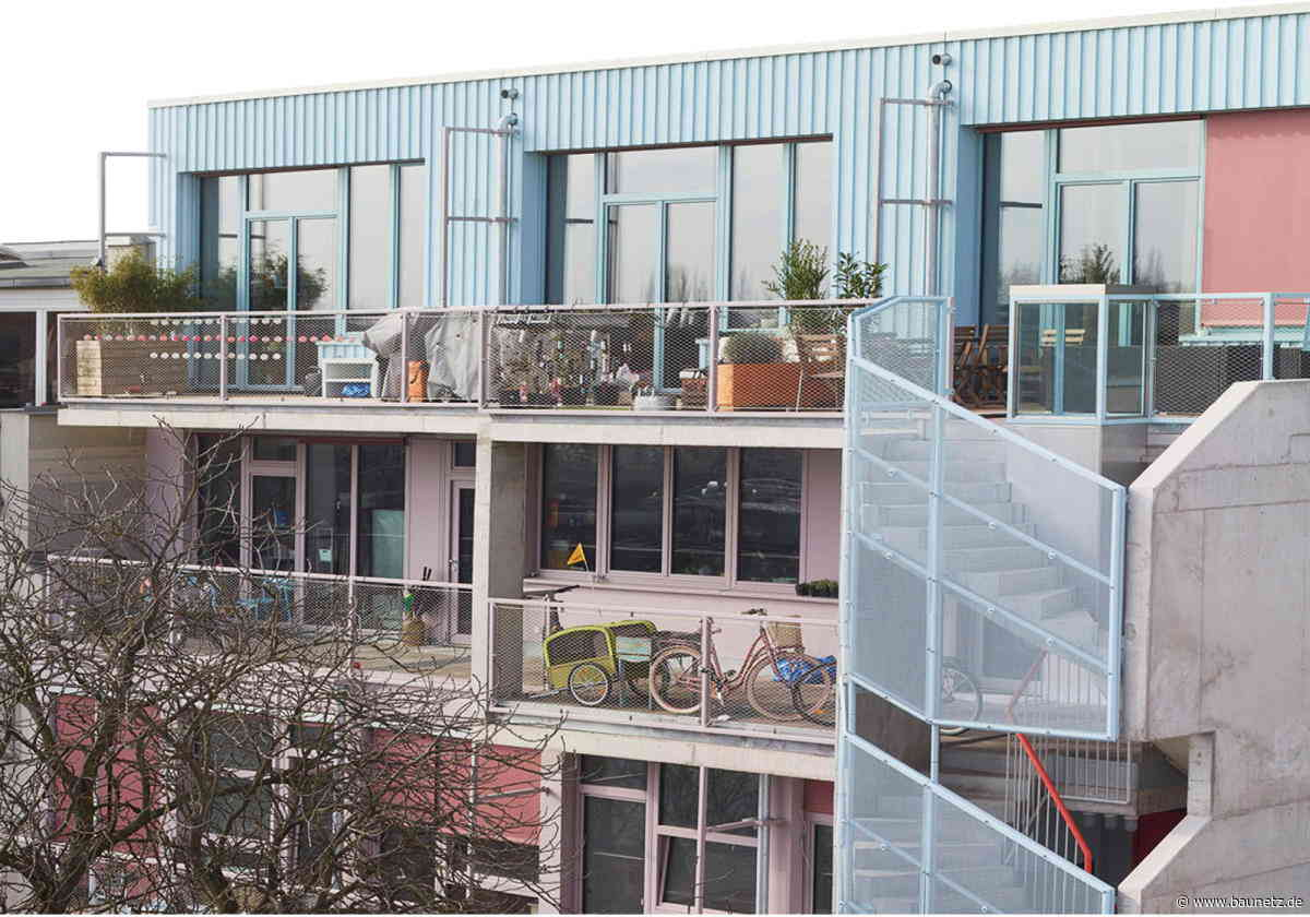 Queeres Wohnen in Berlin - Integratives Projekt von Christoph Wagner Architekten