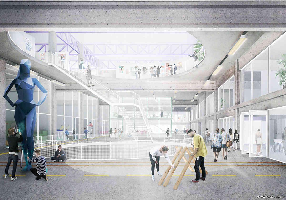 Post, Kunsthochschule, Kulturzentrum  - Studioninedots und DELVA planen für Den Bosch