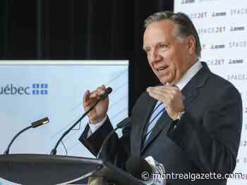 Don't expect Quebec to tax web giants any time soon, Legault warns