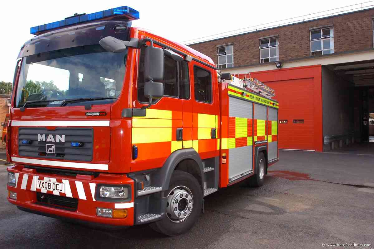 Homeless man in hospital after fire in street