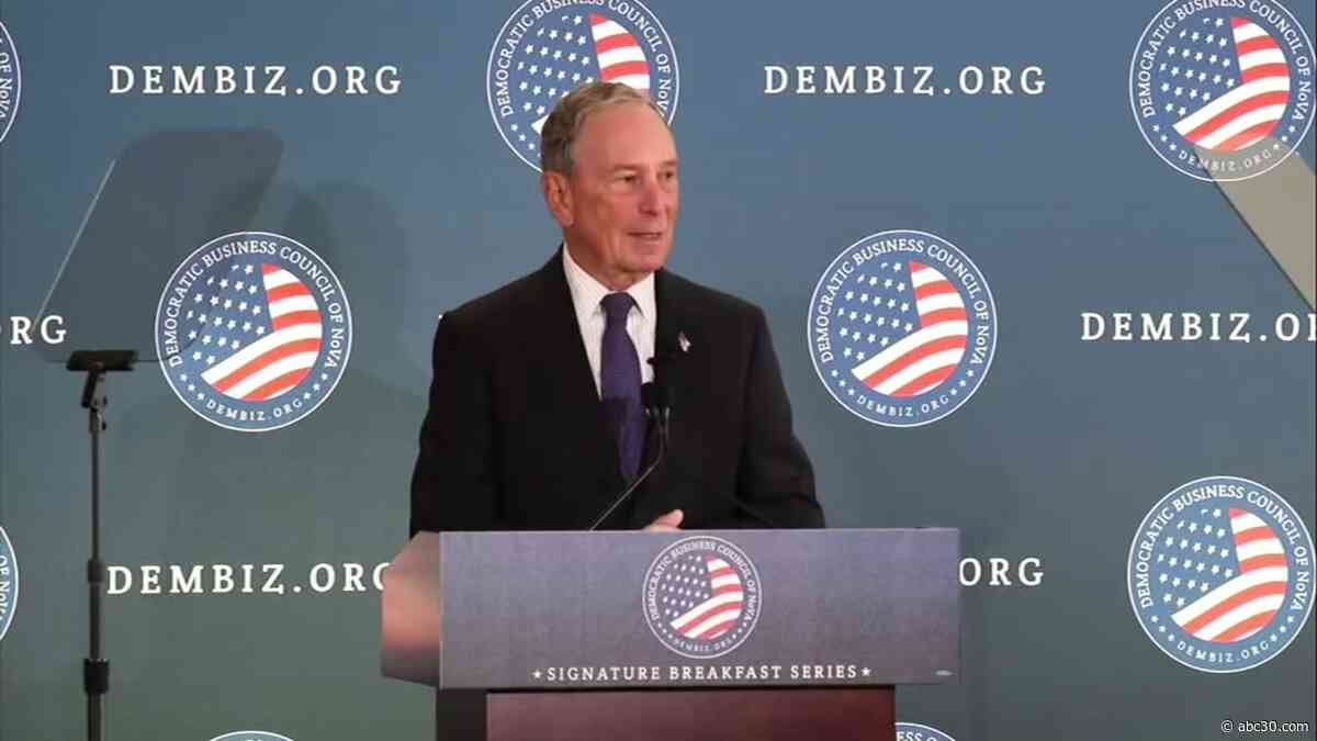 Mike Bloomberg set for first California campaign visit in Bay Area