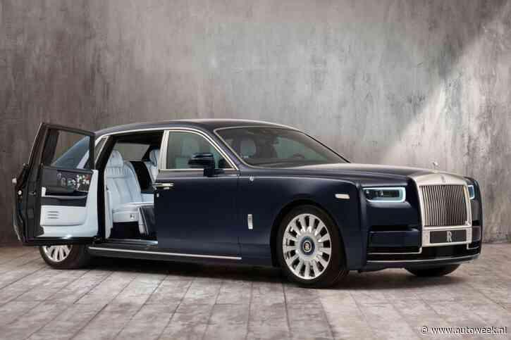 Rolls-Royce Phantom opgefleurd voor bloemenliefhebber