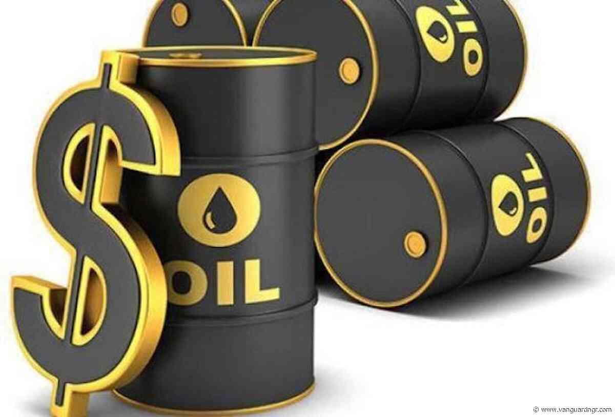 Oil prices fall as U.S. crude stocks jump