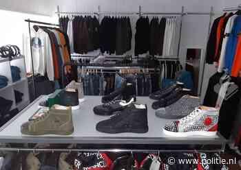 Den Haag - Wederom grote hoeveelheid nepkleding en -schoenen in beslag genomen