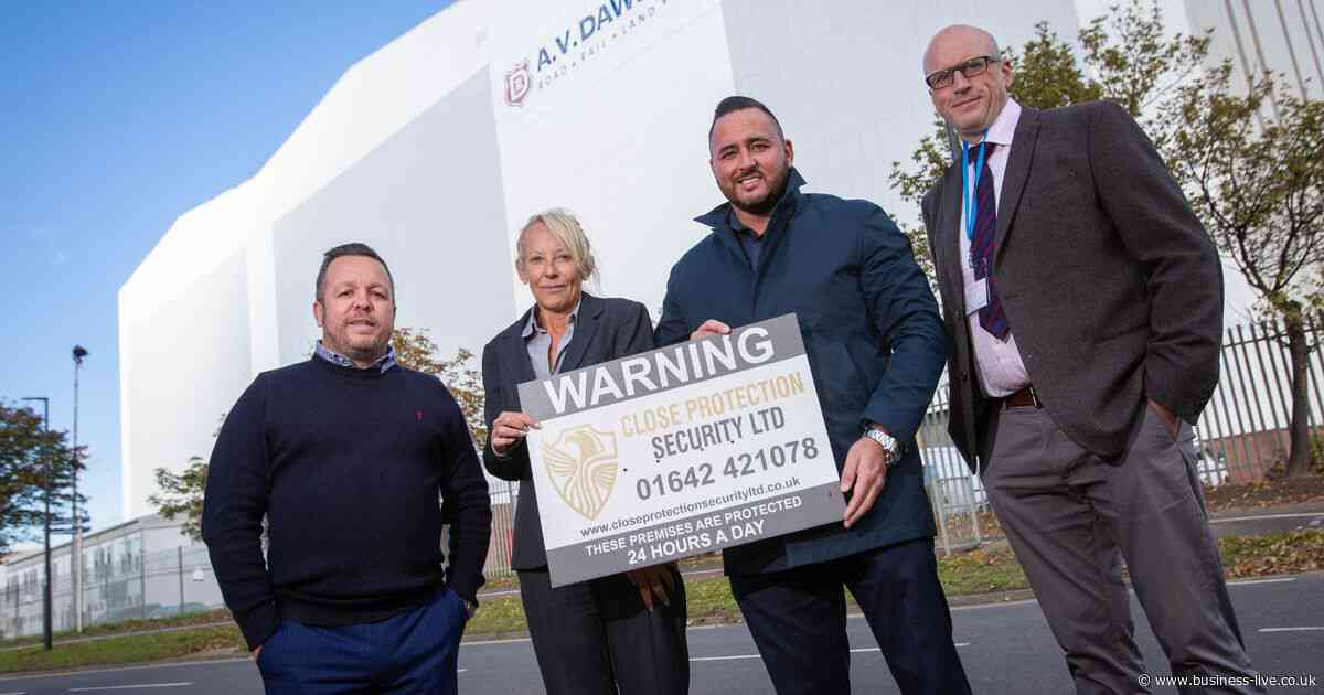 Close Protection Security chalks up £1m sales in first year following big contract wins