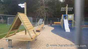 The new rope park, Ross on Wye