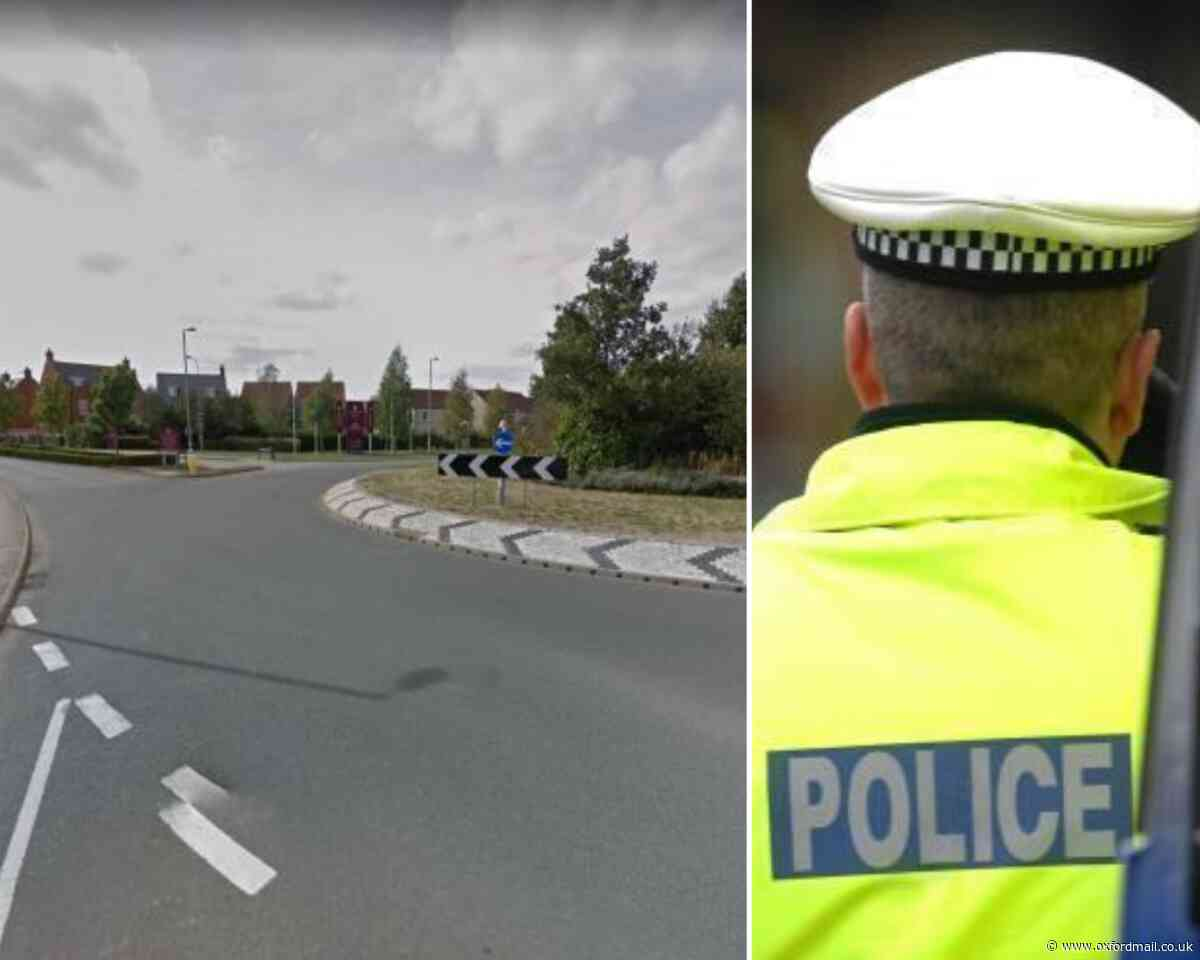 Police appeal after cyclist and car crash in Bicester