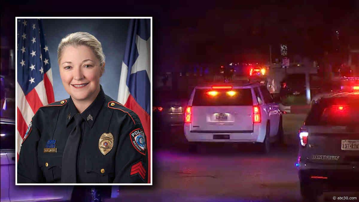 Texas police sergeant dies after being hit by suspect in traffic stop, manhunt underway