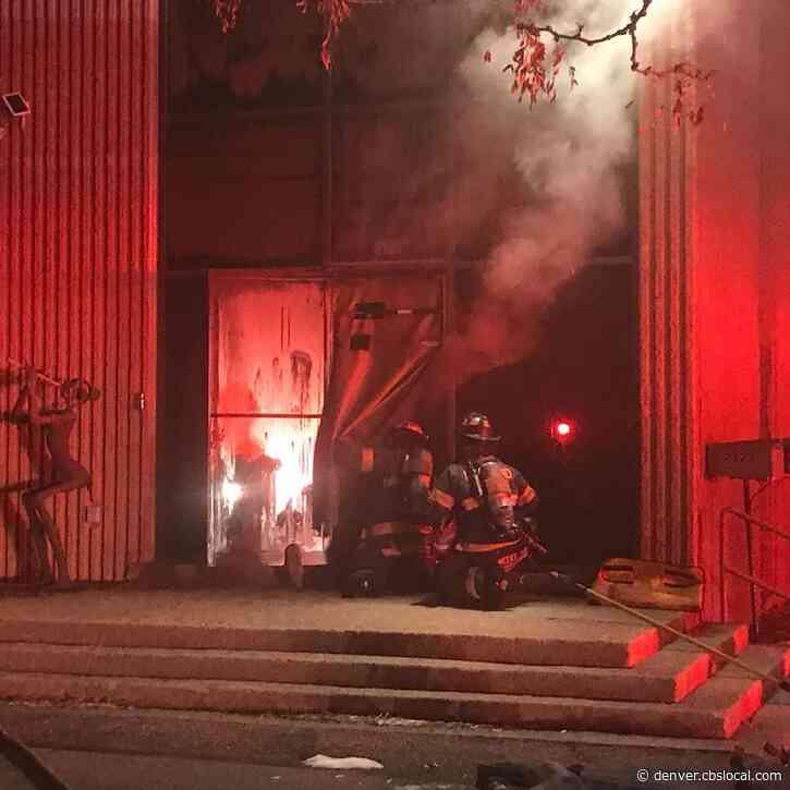 Man Dead, Woman Injured After Fire At Loveland Art Gallery