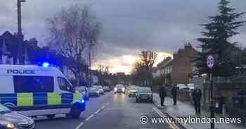 Croydon police: First pictures as Addiscombe Catholic Church on Bingham Road cordoned off by police