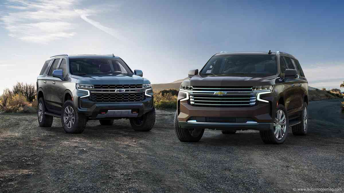 2021 Chevy Tahoe and Suburban: GM's Big Boys Are All-New