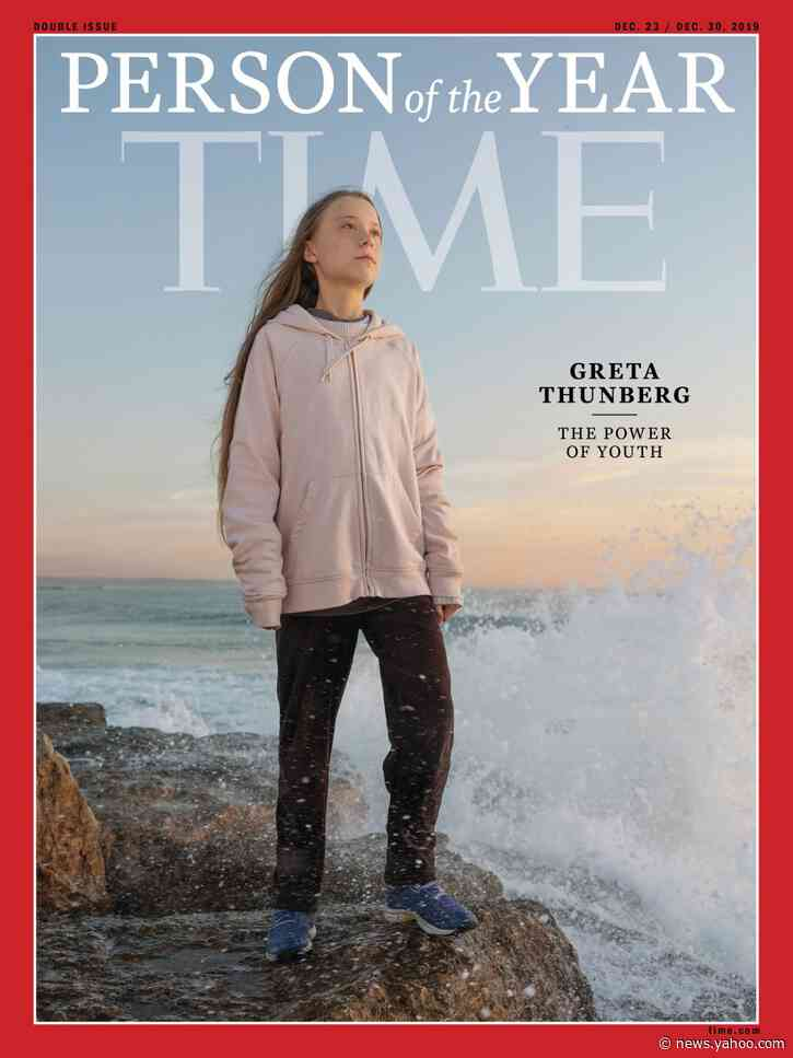 Thunberg 'a bit surprised' to be Time 'Person of the Year'