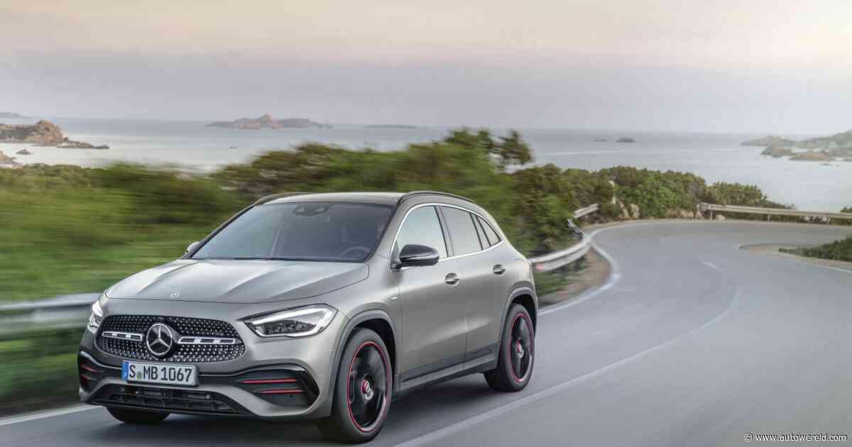 Nieuwe Mercedes GLA stelt zich officieel voor