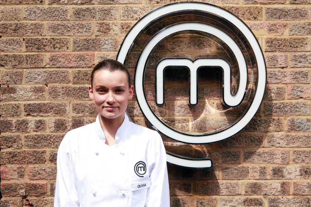 Olivia wowing judges on MasterChef: The Professionals