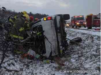 Highway 401 crash victim airlifted to Kingston hospital
