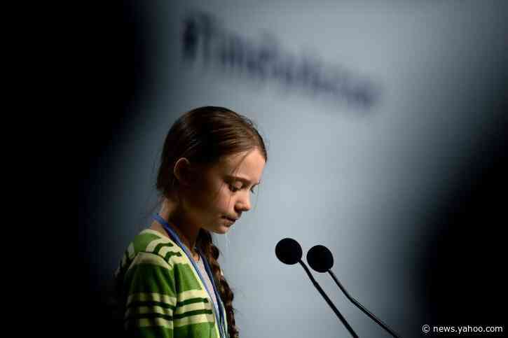 Greta slams 'misleading' climate pledges at chaotic UN summit