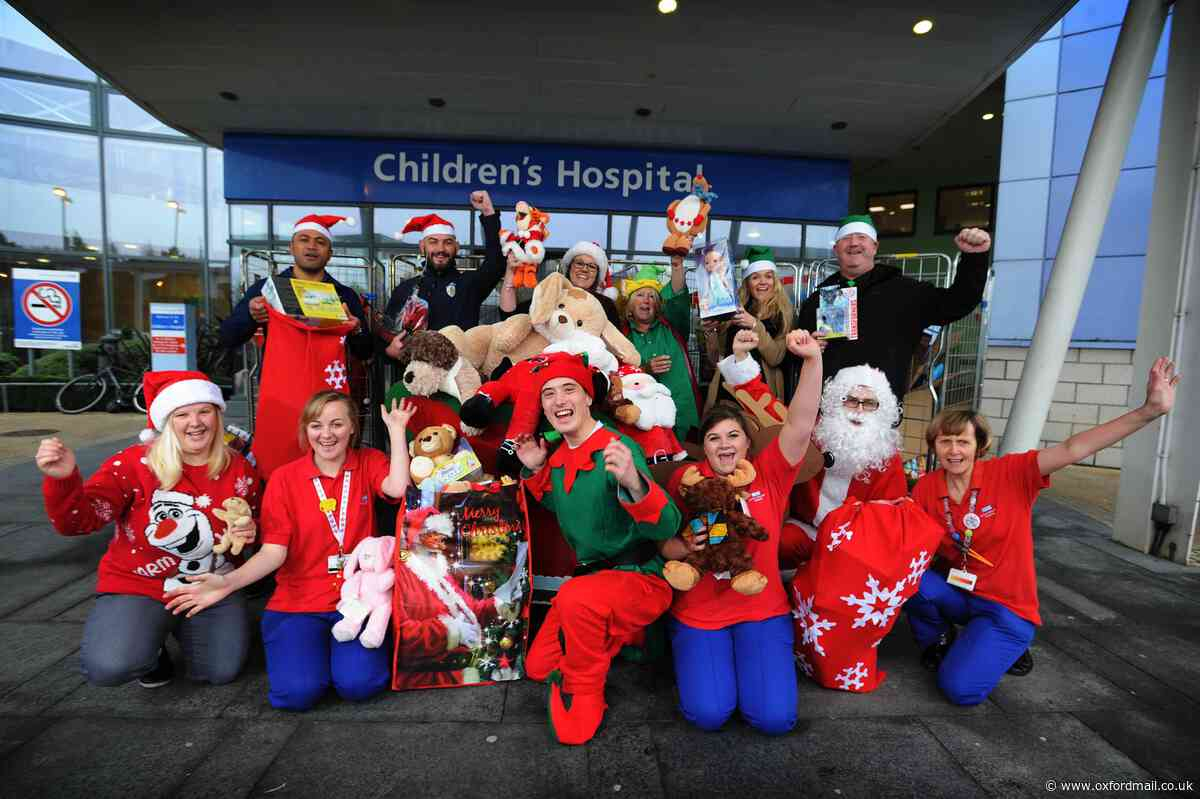 Christmas has come early for the Oxford Children's Hospital