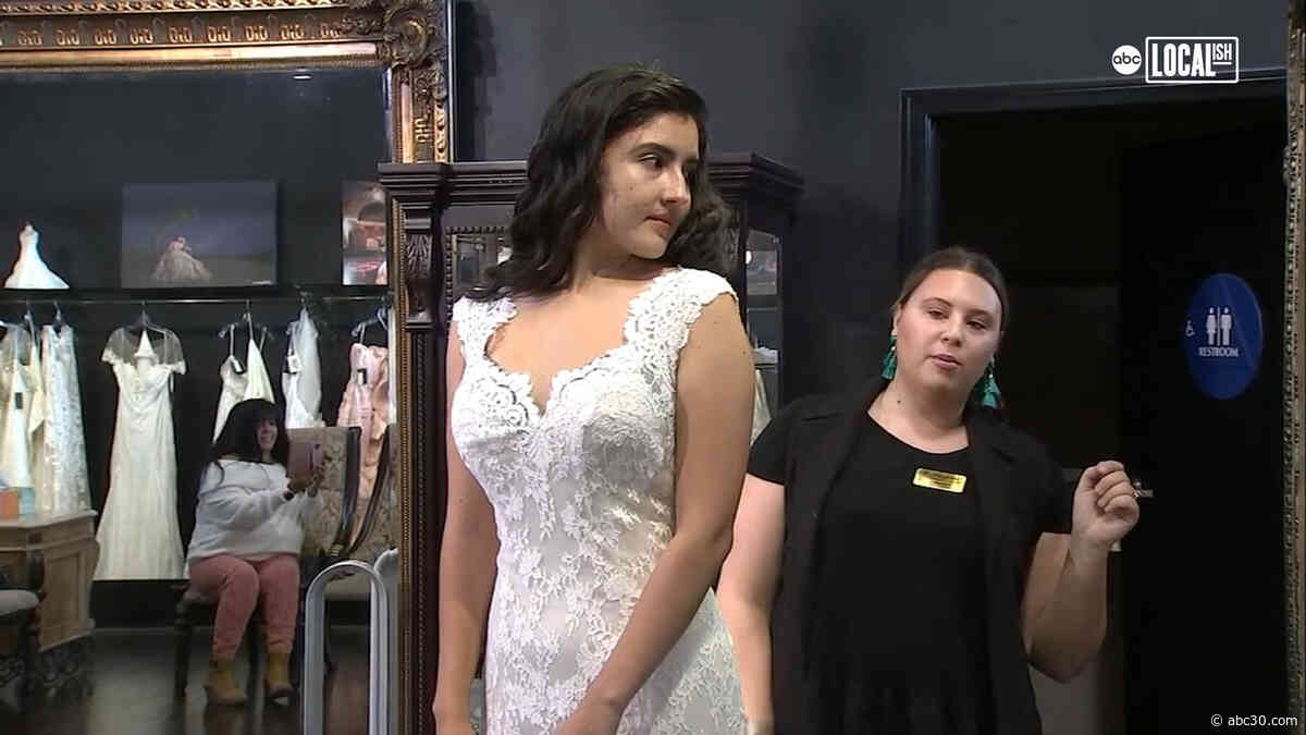 Lucky Active Duty Military and Veterans Gifted Bridal Gowns