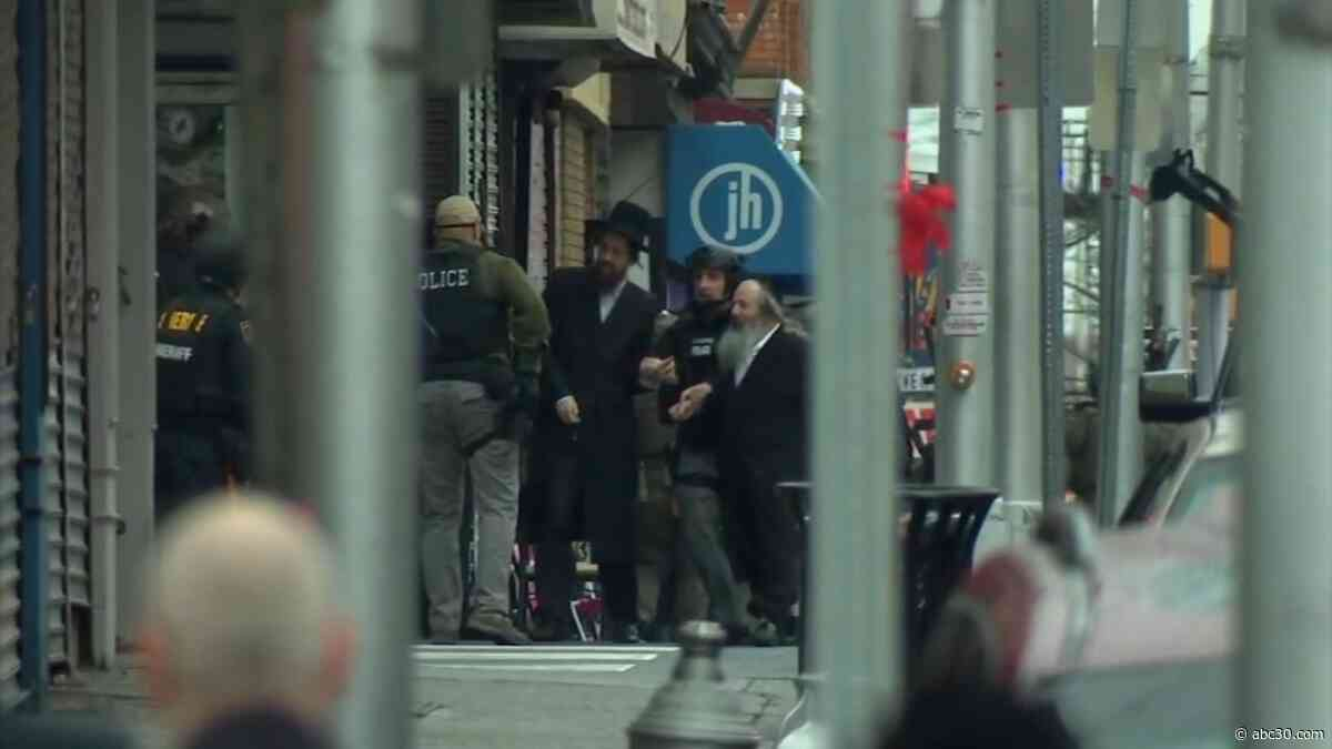 Gunmen may have targeted Jewish market in Jersey City shooting, officials say
