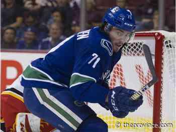 Canucks recall Zack MacEwen following Ferland injury