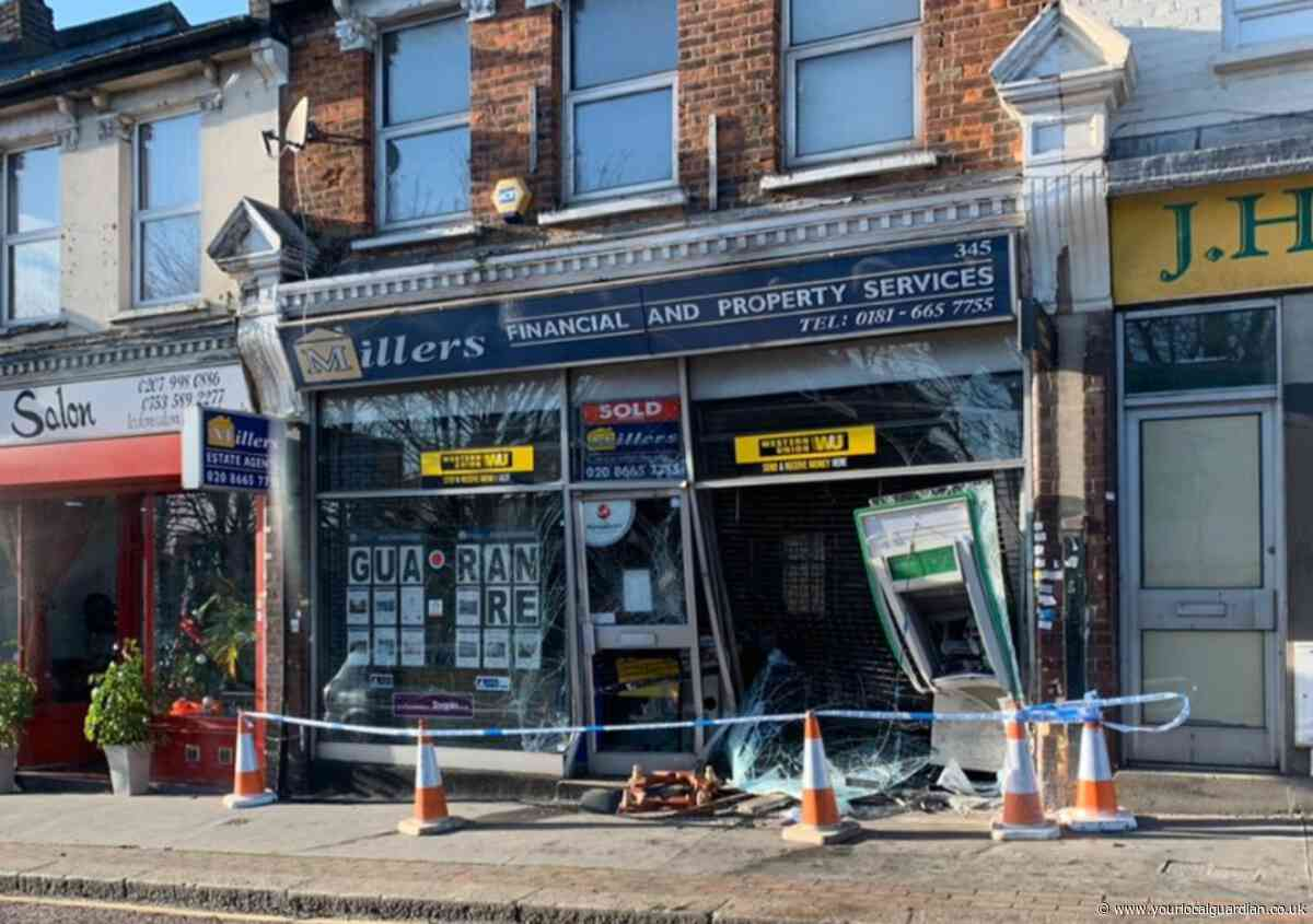'Ram raid?' - Police say this damage was NOT caused by a cash thief