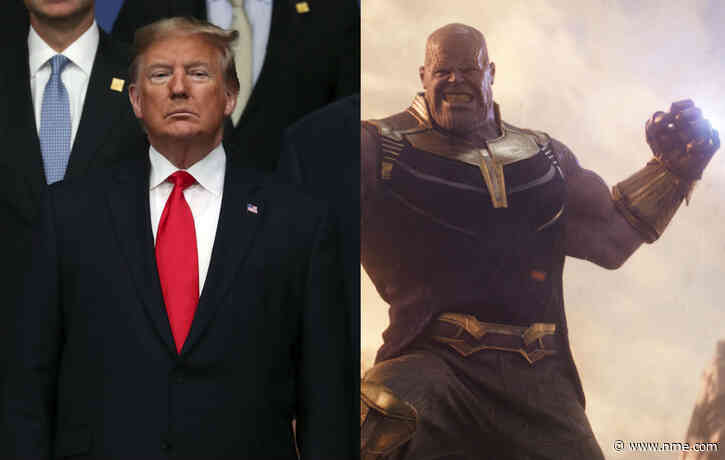 Donald Trump's depicted as Avengers' Thanos in new campaign video