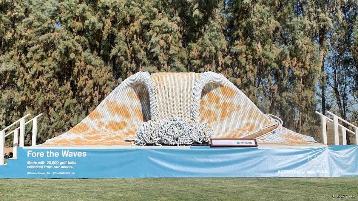 From Trash to Treasure: Bay Area Artist Creates Elaborate Art from Ocean Trash