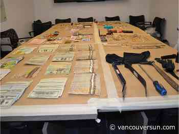Metro Vancouver police recover $198K worth of stolen property