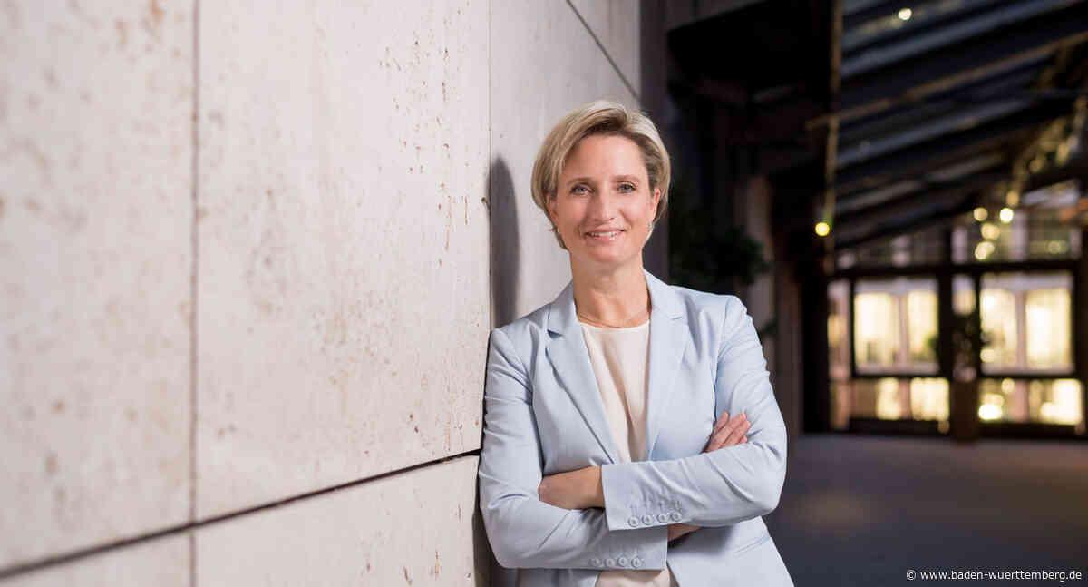 Hoffmeister-Kraut stellt Wirtschaftshaushalt vor