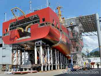 World-class fisheries vessel delivered by Seaspan to Canadian Coast Guard